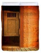 Saloon Doors Duvet Cover