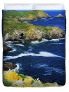 Saltee Islands, Co Wexford, Ireland Duvet Cover