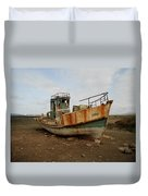 Salty Remains Duvet Cover