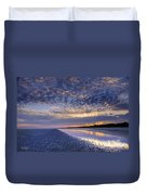 Same Night Five Fifty Two Pm Duvet Cover