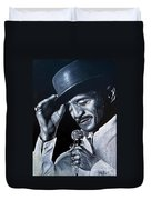 Sammy Davis Jr Duvet Cover