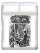 Samuel Crompton (1753-1827) Duvet Cover