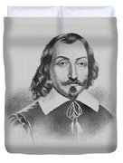Samuel De Champlain Duvet Cover by Photo Researchers