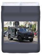 San Diego Swat Duvet Cover