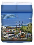 San Francisco Fleet Week 2011 Duvet Cover