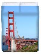San Francisco Golden Gate Bridge . 7d8157 Duvet Cover