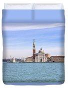 San Giorgio Maggiore Duvet Cover by Joana Kruse