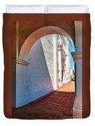 San Luis Rey Courtyard Duvet Cover