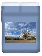 San Xavier Del Bac Tucson Duvet Cover