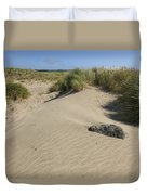 Sand And Grass Dunes Duvet Cover