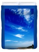 Sand And Sky Duvet Cover