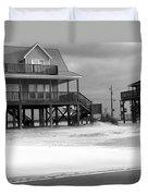 Sand And Stilts Duvet Cover