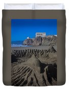 Sand Dolphin Duvet Cover