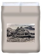 Sand Dragon Sculputure Duvet Cover