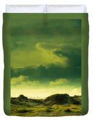 Sand Dunes And Clouds Duvet Cover by Marilyn Hunt