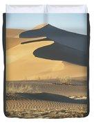 Sand Dunes In Namib Desert Duvet Cover