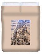 Sand Painting 55 Duvet Cover