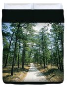 Sand Road Through The Pine Barrens, New Duvet Cover