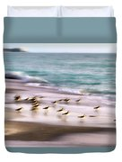 Sandpiper Evening Duvet Cover