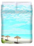 Sandy Beach Duvet Cover