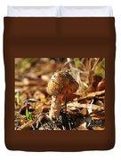 Sandy Shroom Duvet Cover