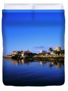 Sandycove, Co Dublin, Ireland The James Duvet Cover