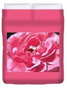 Sandys Pink Rose Frills Duvet Cover
