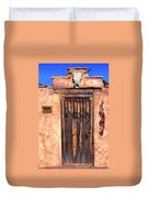 Santa Fe Door Duvet Cover