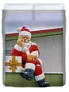Santa Is Waiting For You Duvet Cover