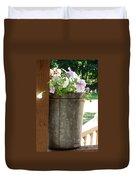 Sap Bucket Planter Duvet Cover