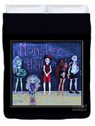Sarah's Monster High Collection Duvet Cover