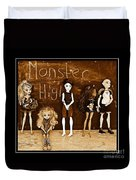 Sarah's Monster High Collection Sepia Duvet Cover