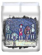 Sarah's Monster High Collection Sketch Duvet Cover