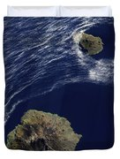 Satellite View Of The Prince Edward Duvet Cover