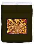Satin Ribbons Abstract Duvet Cover