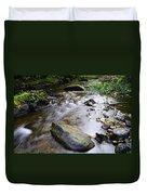Satus Creek In Autumn Duvet Cover