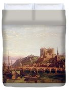 Saumur -  By The Loire Valley  Duvet Cover