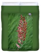 Savannah Ruby Grass Duvet Cover