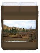 Sawtooth Swamp Duvet Cover