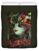 Scarecrow Bounty Duvet Cover