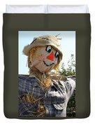 Scarecrow Farmer Duvet Cover