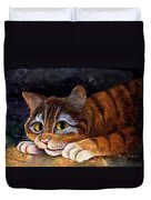 Scaredy Cat Duvet Cover