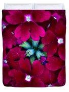Scarlet Bouquet  Duvet Cover