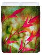 Scarlet Duvet Cover