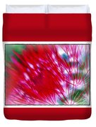 Scarlet Sabers Duvet Cover