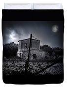 Scary House Duvet Cover