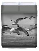 Sea Gull Scavengers Duvet Cover