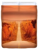 Scenic Highway Duvet Cover