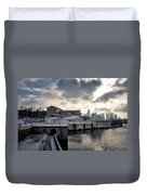 Scenic Philadelphia Winter Duvet Cover