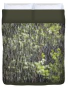 Scenic View In Zion National Park Duvet Cover